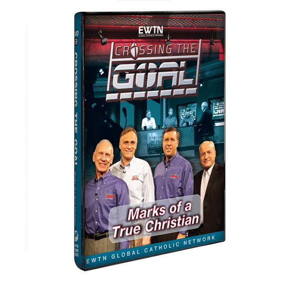 CROSSING THE GOAL: MARKS OF A TRUE CHRISTIAN - DVD