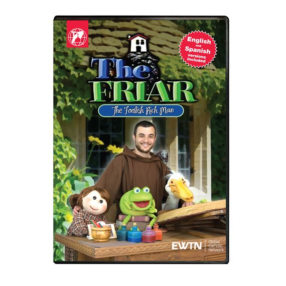 THE FRIAR THE FOOLISH RICH MAN DVD