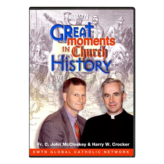 GREAT MOMENTS IN CHURCH HISTORY - DVD
