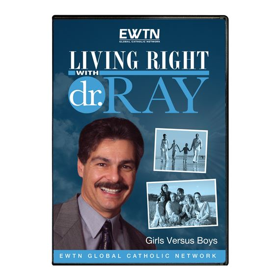 LIVING RIGHT WITH DR. RAY: GIRLS VERSUS BOYS - DVD