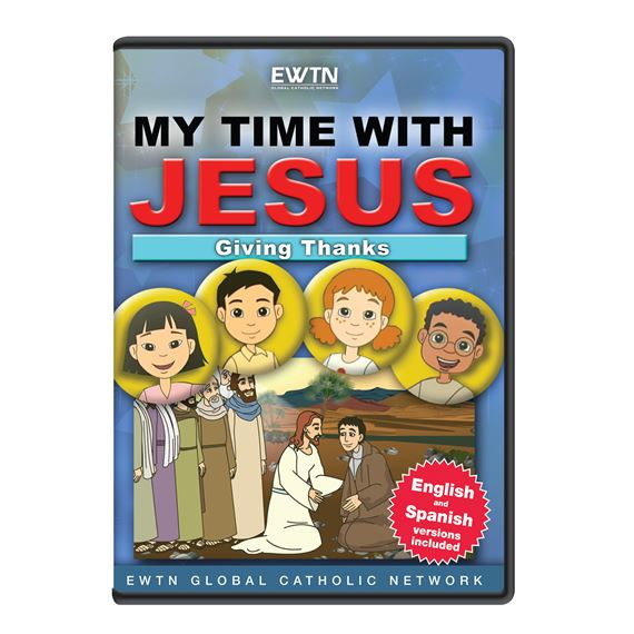 MY TIME WITH JESUS - GIVING THANKS  DVD