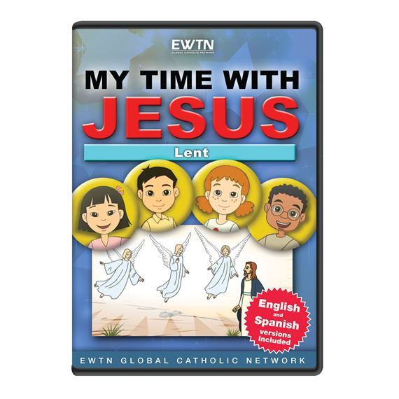 MY TIME WITH JESUS: LENT - DVD