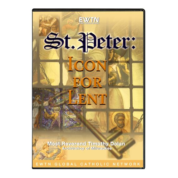ST. PETER ICON FOR LENT - DVD