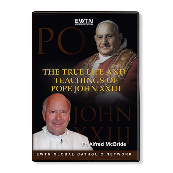 THE TRUE LIFE AND TEACHINGS OF POPE JOHN 23 - DVD