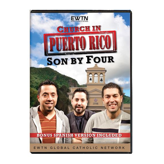 THE CHURCH IN PUERTO RICO: SON BY FOUR DVD
