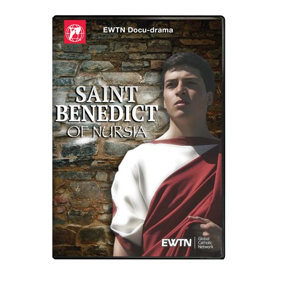 SAINT BENEDICT OF NURSIA DVD
