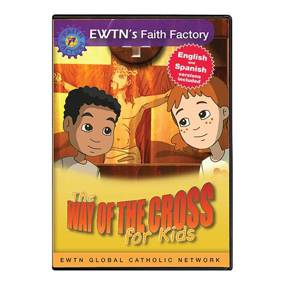 THE WAY OF THE CROSS FOR KIDS - DVD