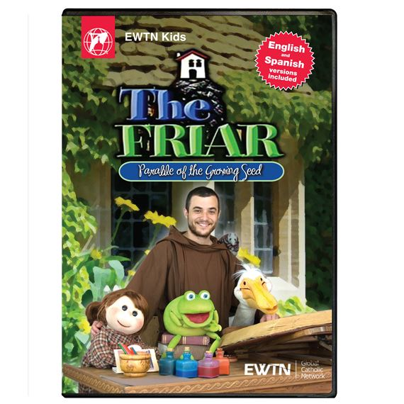 THE FRIAR PARABLE OF THE GROWING SEED DVD