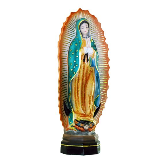 OUR LADY OF GUADALUPE ONYX STATUE