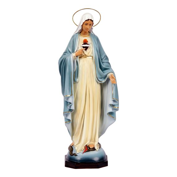 IMMACULATE HEART OF MARY STATUE 17""