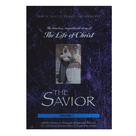LIFE OF CHRIST - SAVIOR   DVD