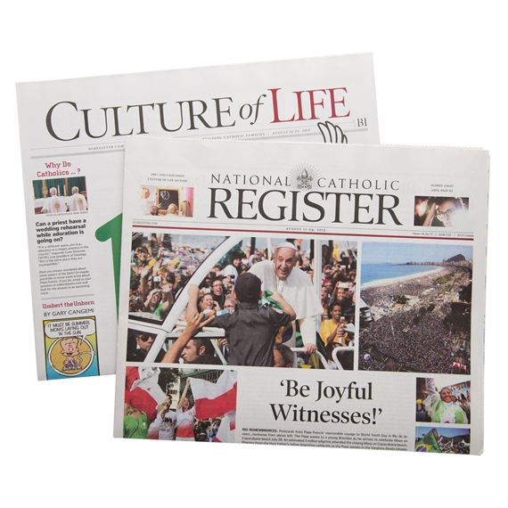 NATIONAL CATHOLIC REGISTER - CANADA - 12 MONTH