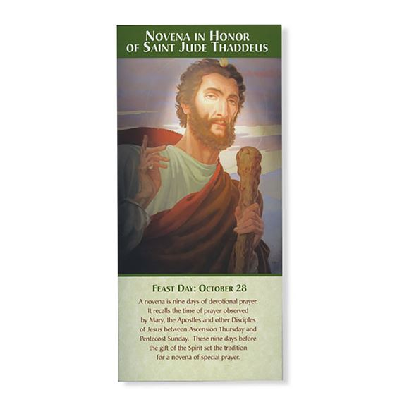 NOVENA IN HONOR OF ST. JUDE THADDEUS