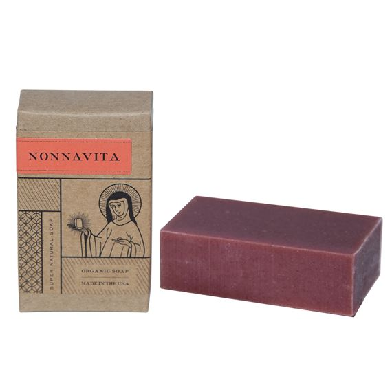 BLOOD ORANGE & BERGAMOT - NONNAVITA SOAP