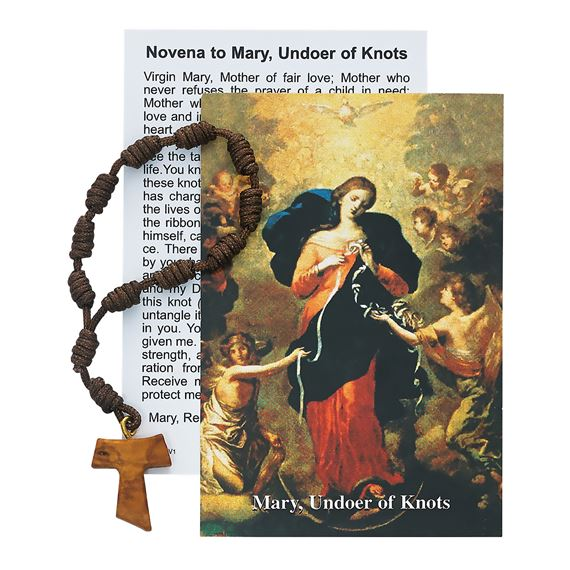 OUR LADY UNDOER OF KNOTS SINGLE DECADE ROSARY