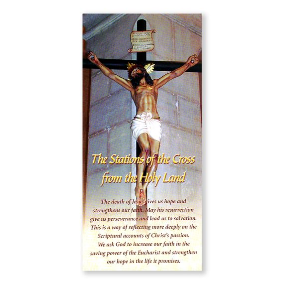14 STATIONS OF THE CROSS LAMINATED PAMPHLET