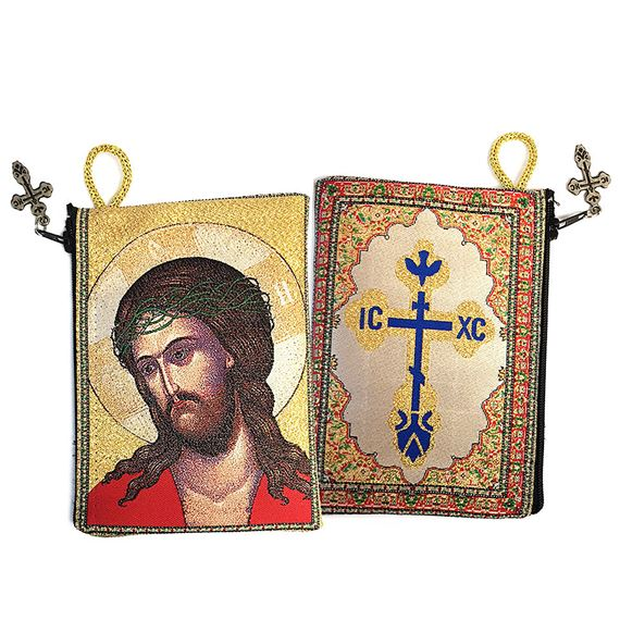 EXTREME HUMILITY TAPESTRY ICON - ROSARY POUCH