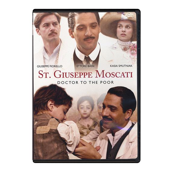 ST. GIUSEPPE MOSCATI - DOCTOR TO THE POOR - DVD