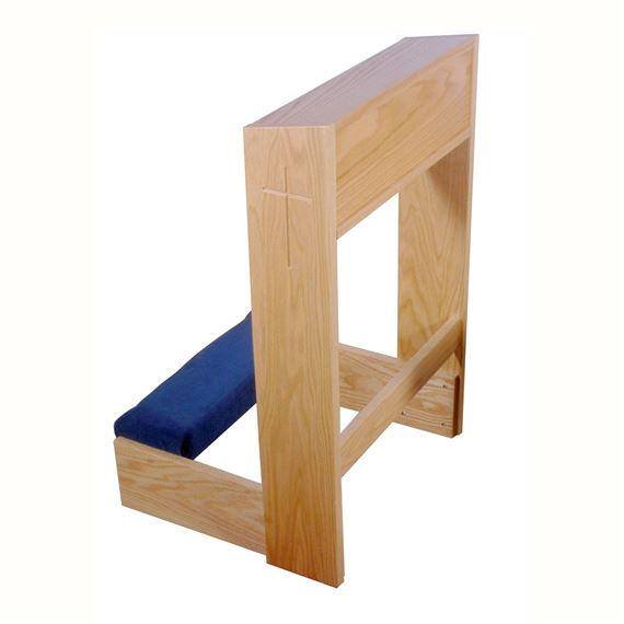 PRIE DIEU - SOLID OAK PRAYER KNEELER