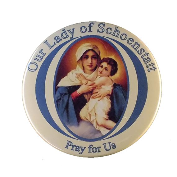 OUR LADY OF SCHOENSTATT MAGNET