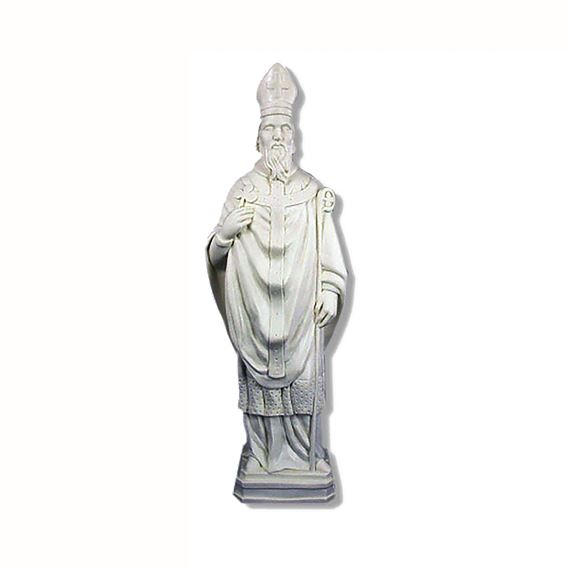 "ST. PATRICK OUTDOOR STATUE - 24"" GRAY"