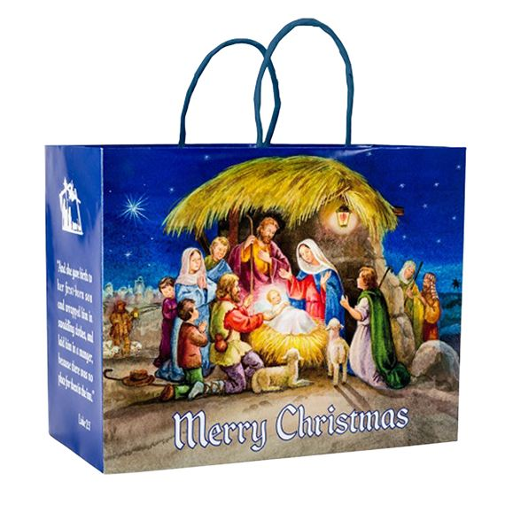 CHRISTMAS GIFT BAG - NATIVITY