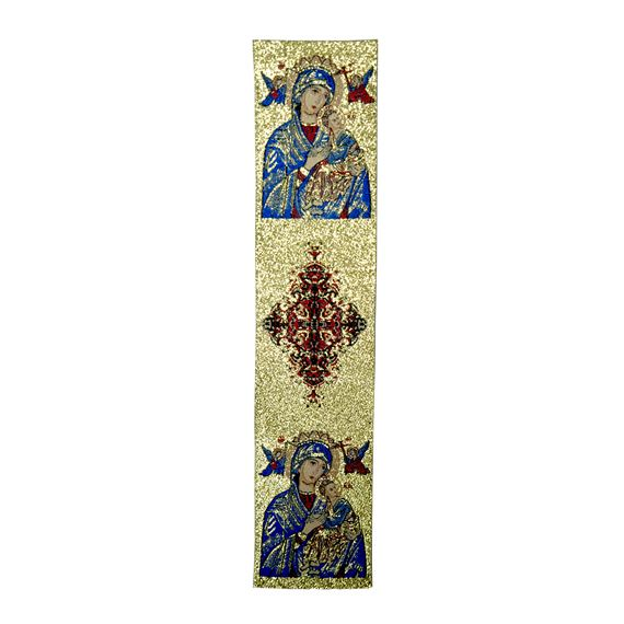 OUR LADY OF PERPETUAL HELP - TAPESTRY BOOKMARK