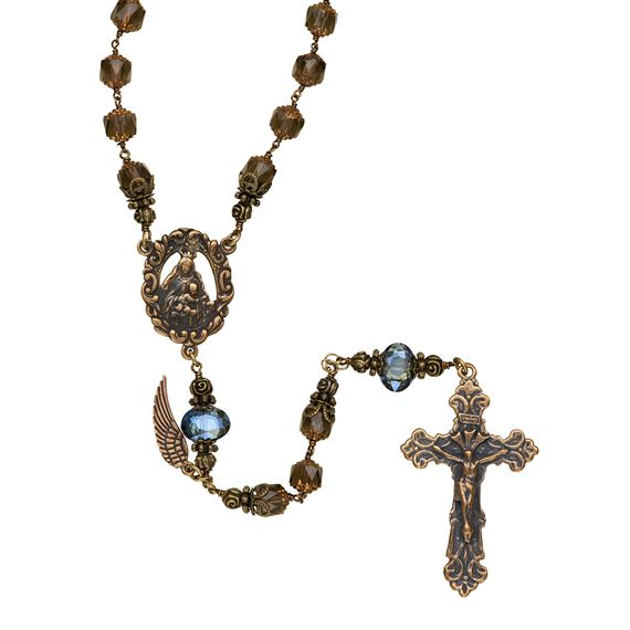 OUR LADY OF MT. CARMEL HEIRLOOM ROSARY