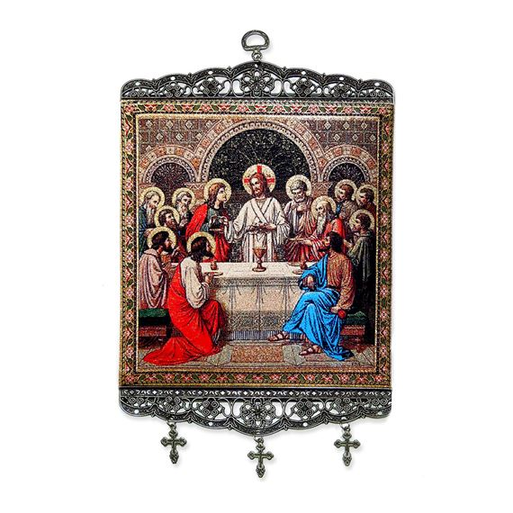 THE LAST SUPPER TAPESTRY WALL HANGING