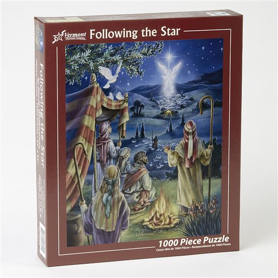 FOLLOWING THE STAR - 1000 PC. JIGSAW PUZZLE