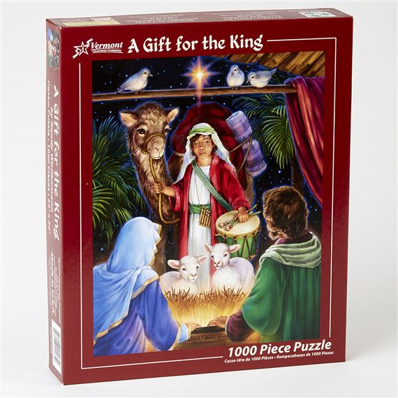 A GIFT FOR THE KING - 1000 PC. JIGSAW PUZZLE