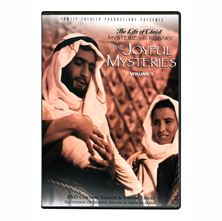 LIFE OF CHRIST: JOYFUL MYSTERIES DVD