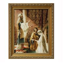 MARRIAGE OF MARY AND ST. JOSEPH - FRAMED