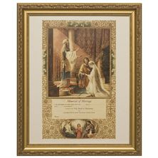 MARRIAGE CERTIFICATE FRAMED ARTWORK