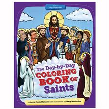 THE DAY-BY-DAY COLORING BOOK OF SAINTS (VOLUME 2)