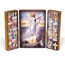 STATIONS OF THE CROSS TRIPTYCH