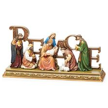 PEACE NATIVITY TABLETOP PIECE