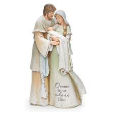 HEAVENLY BLESSING HOLY FAMILY STATUE