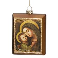 MADONNA AND CHILD MINI PORTRAIT ORNAMENT