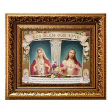 GOD BLESS OUR HOME FRAMED ARTWORK