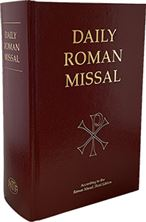 THE DAILY ROMAN MISSAL - BURGUNDY HARDCOVER