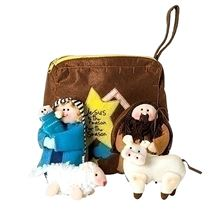 CHILDREN'S FELT NATIVITY SET