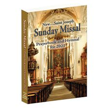 SAINT JOSEPH SUNDAY MISSAL PRAYERBOOK AND HYMNAL FOR 2021