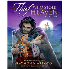 AUTOGRAPHED COPY - THE THIEF WHO STOLE HEAVEN