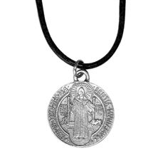 ST. BENEDICT MEDAL ON CORD