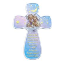 GUARDIAN ANGEL CROSS PLAQUE WITH PRAYER