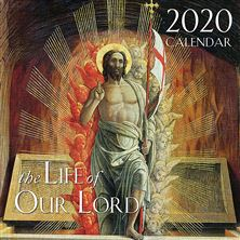 THE LIFE OF OUR LORD 2020 WALL CALENDAR