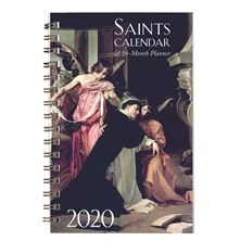 16-MONTH SAINTS CALENDAR and DAILY PLANNER 2020