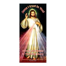CHAPLET OF DIVINE MERCY NOVENA LAMINATED PAMPHLET
