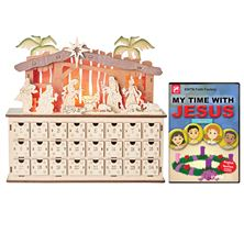 WOODEN ADVENT CALENDAR and FREE DVD